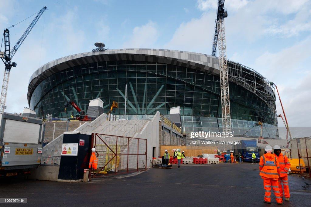 Tottenham Hotspur Stadium Feature : News Photo