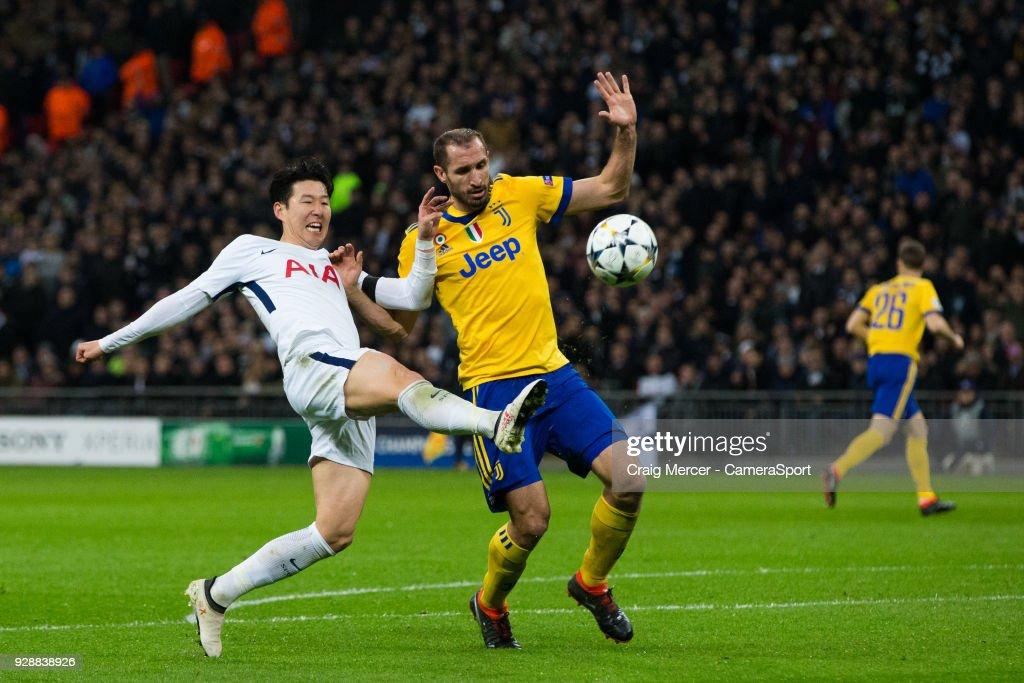 Tottenham Hotspur v Juventus - UEFA Champions League Round of 16: Second Leg : ニュース写真