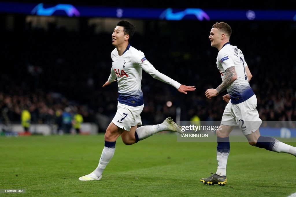 FBL-EUR-C1-TOTTENHAM-MAN CITY : News Photo