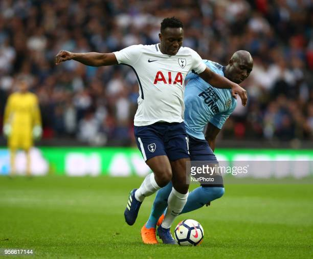 Tottenham Hotspur's Victor Wanyama during the English Premier League match between Tottenham Hotspur and Newcastle United at Wembley London England...