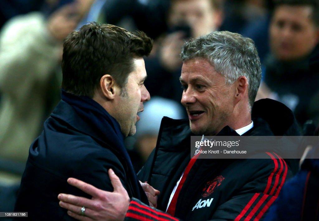 Manchester Unitied v Tottenham Hotspur - Premier League : News Photo