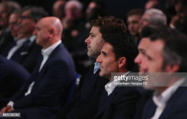 Tottenham manager Mauricio Pochettino during the premiere of 'The Lane' documentary film at BT Sport Studios on November 30 2017 in Stratford England