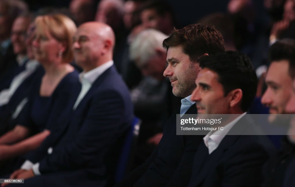 Tottenham manager Mauricio Pochettino during the premiere of 'The Lane' documentary film at BT Sport Studios on November 30, 2017 in Stratford, England.