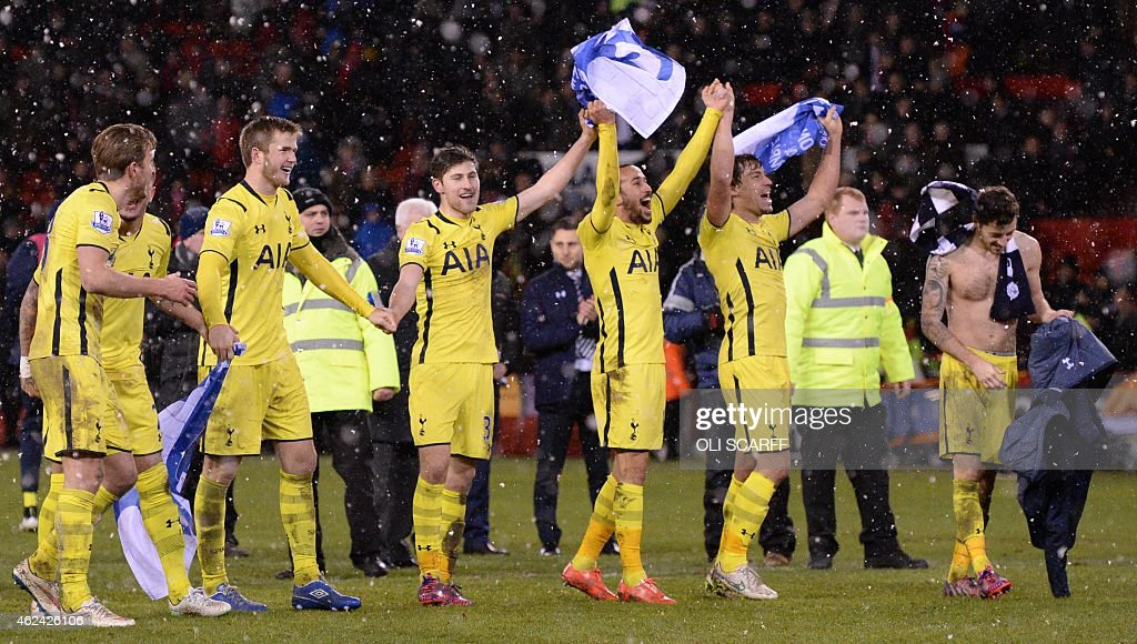 FBL-ENG-LCUP-SHEFFIELD UTD-TOTTENHAM : News Photo