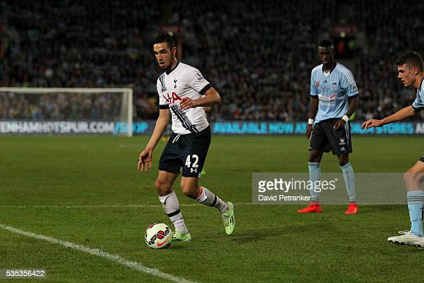 Tottenham Spurs have defeated Sydney FC in front of 71000 fans at ANZ Stadium in Sydney