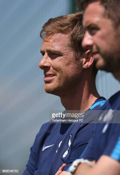 Tottenham Under 18 coach Scott Parker during the Tottenham Hotspur training session at Tottenham Hotspur Training Centre on July 5 2017 in Enfield...