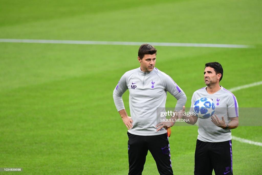 Tottenham S Argentine Coach Mauricio Pochettino And Tottenham S News Photo Getty Images