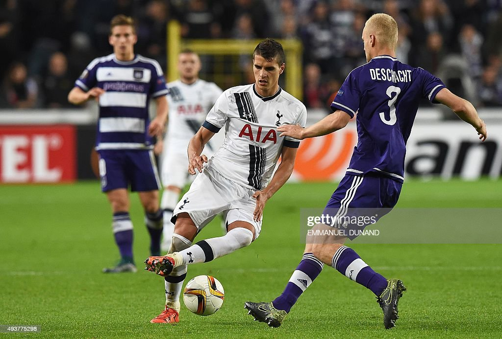 FBL-EUR-C3-ANDERLECHT-TOTTENHAM : News Photo
