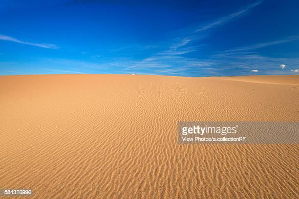 tottori sand dunes - tottori prefecture stock photos and pictures