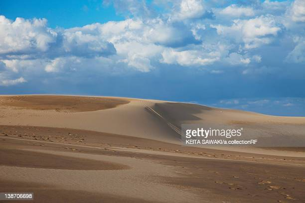 tottori sand dunes, tottori prefecture, honshu, japan - 鳥取県 無人 ストックフォトと画像