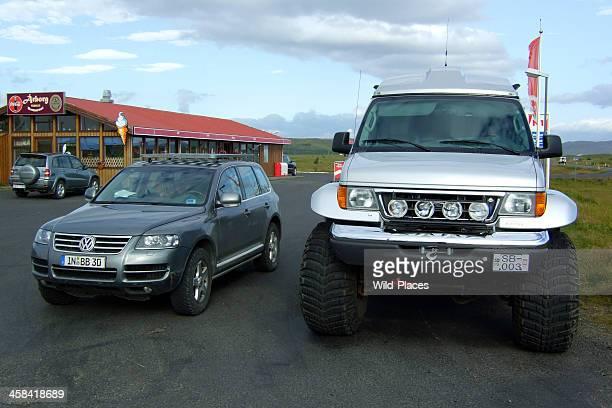 VW Touareg in Iceland