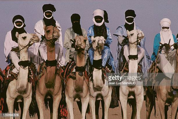 Touaregs during The salted Cure in Niger