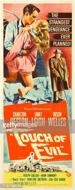 Charlton Heston Janet Leigh Orson Welles 1958