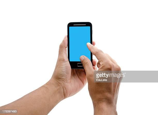 Telefone de ecrã tátil