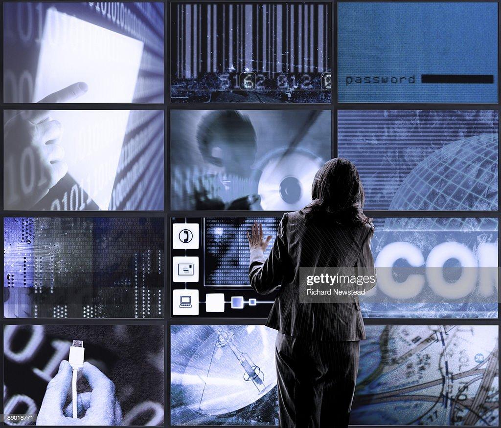 Touch Screens : Bildbanksbilder