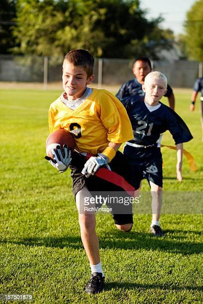 touchdown. - rush fútbol americano fotografías e imágenes de stock