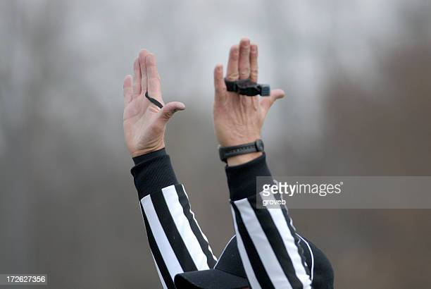 touchdown - american football referee stock pictures, royalty-free photos & images