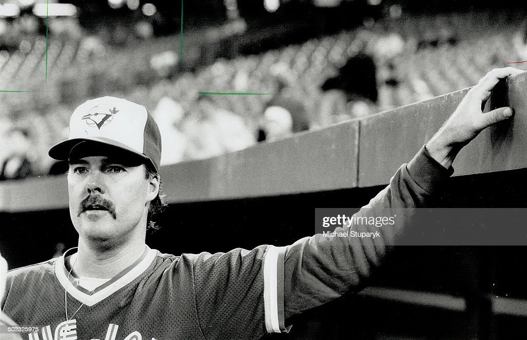 Mark Eichhorn; who began his major-league career here; went back to the Toronto dugout last night after being dealt from California. The deal makes Jays top heavy in righthanded relievers.