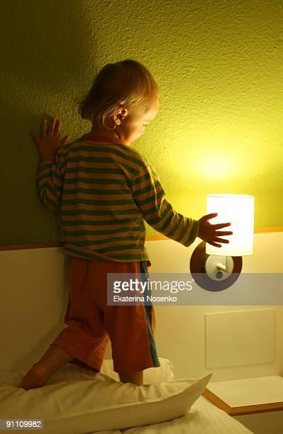 Touching light
