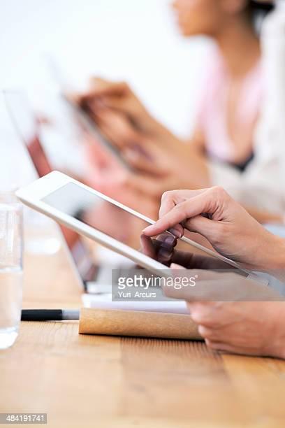 Touchscreens -Making Arbeit einfacher