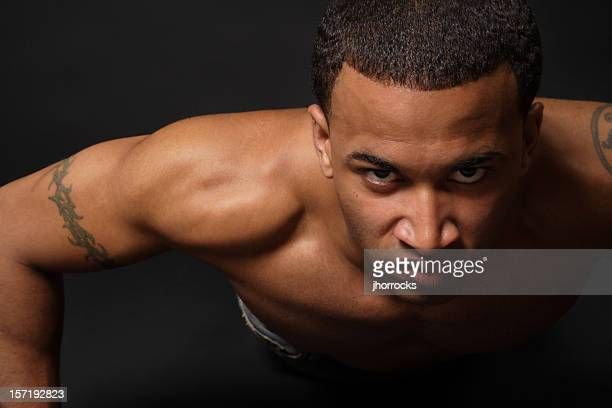 tough as nails - tattoo shoulder stock photos and pictures