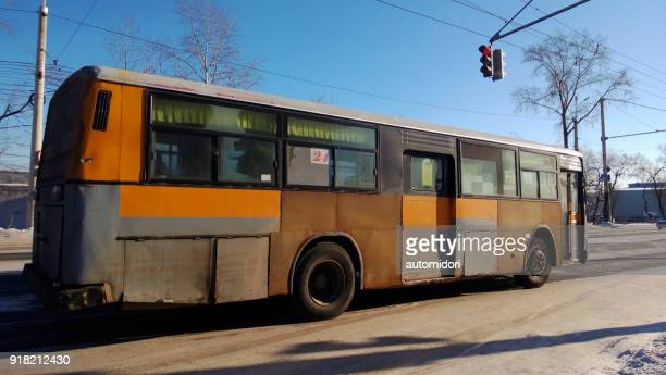 Tough City Bus in Khabarovsk during Winter 2014
