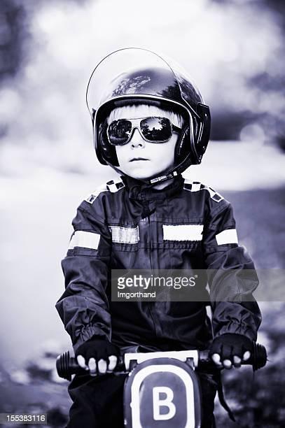 Tough little cop