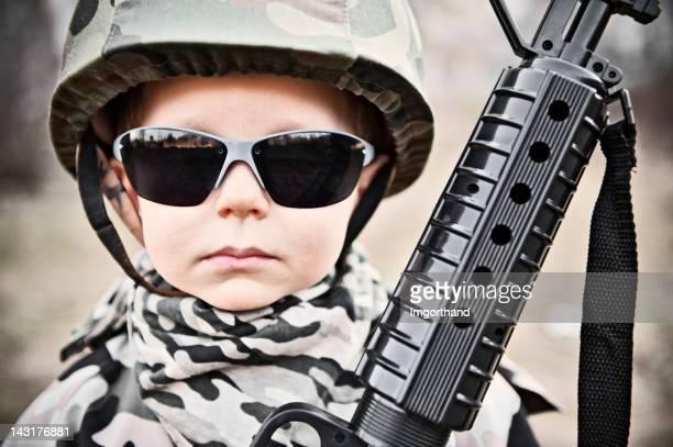 Tough little soldier