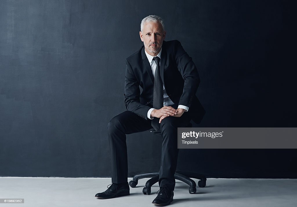 Tough minded and determined to succeed : Stock-Foto