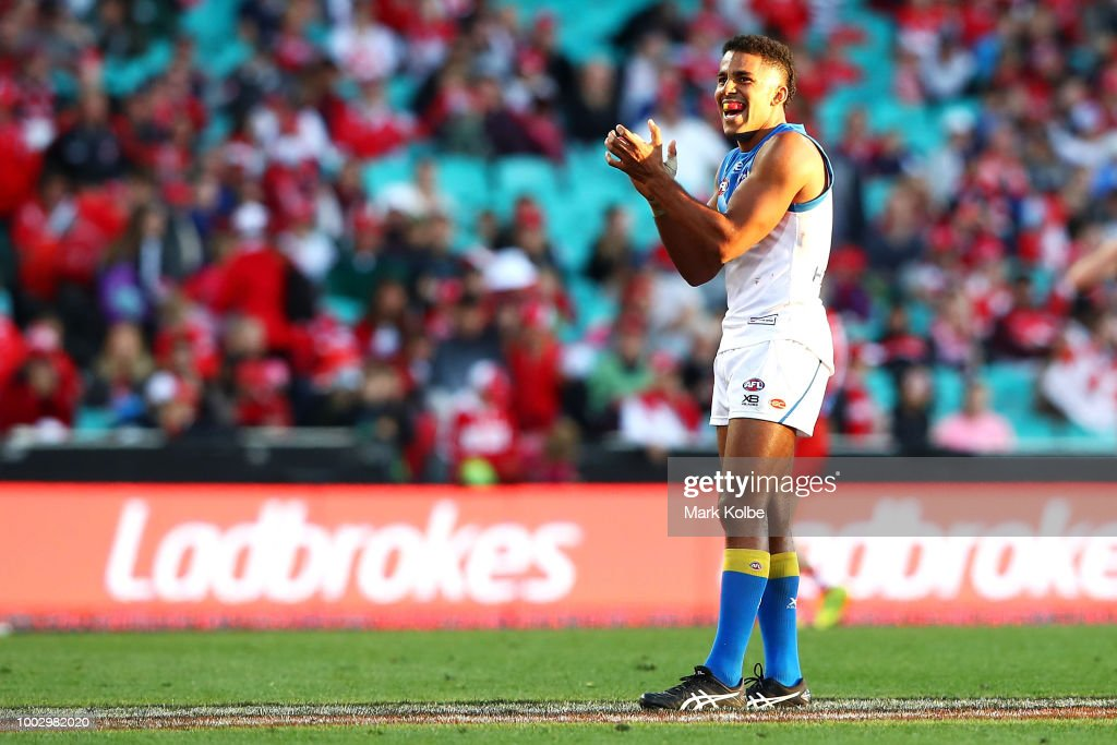 AFL Rd 18 - Sydney v Gold Coast : News Photo