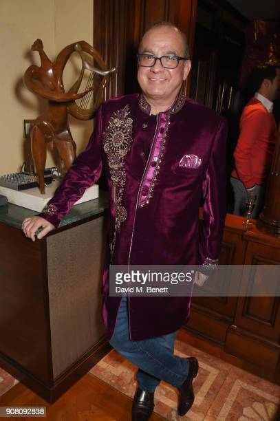 Touker Suleyman attends Lisa Tchenguiz's birthday party on January 20 2018 in London England