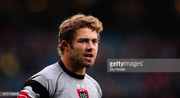 Toulon player Leigh Halfpenny in action before the European Rugby Champions Cup Final between ASM Clermont Auvergne and RC Toulon at Twickenham...