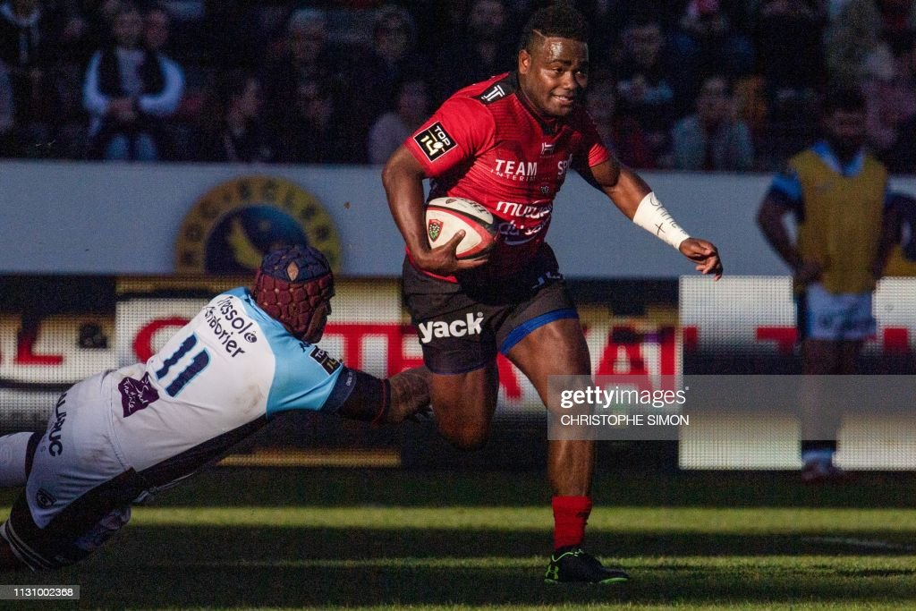 RUGBYU-FRA-TOP14-TOULON-MONTPELLIER : News Photo
