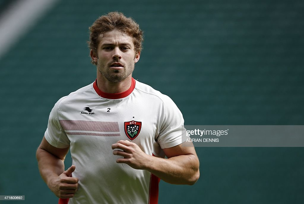 RUGBYU-EUR-CUP-CLERMONT-TOULON-TRAINING : News Photo