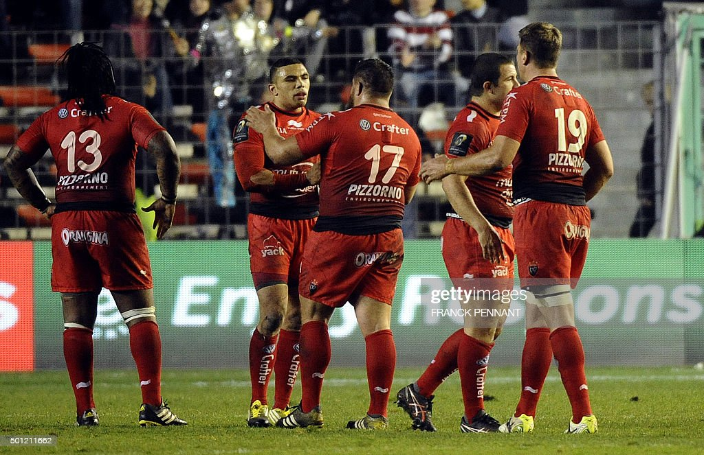 RUGBYU-EUR-CUP-TOULON-LEINSTER : News Photo