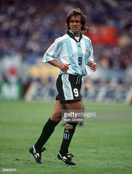 Toulouse, 14.06.98, NATIONALMANNSCHAFT 1998 ARGENTINIEN/ARG/ARGENTINA, Gabriel BATISTUTA