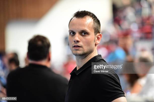 Toulouse assistant coach Danijel Andjelkovic during the Lidl Starligue match between Creteil and Toulouse on May 17 2017 in Creteil France