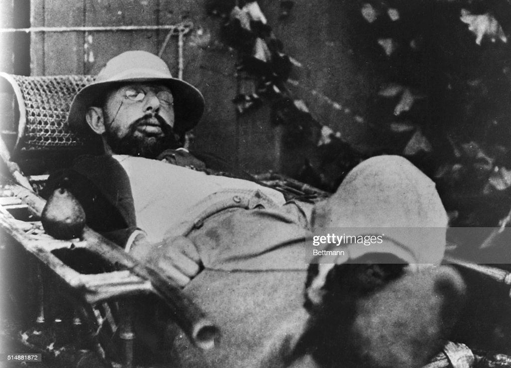 Toulouse Lautrec,(1864-1901) French painter and Illustrator. Asleep in chair. Undated photograph. BPA2# 1118