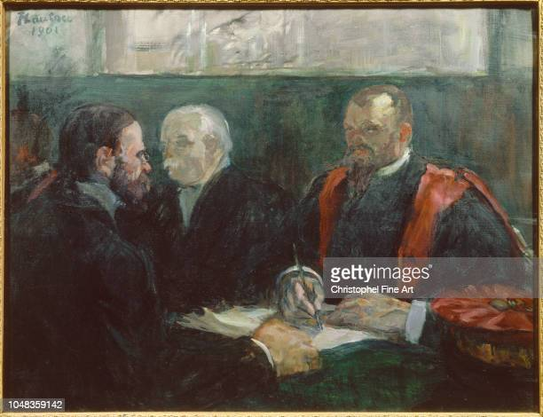Toulouse Lautrec Henri De An examination at the Faculty of Medicine of Paris in 1901 Toulouse Lautrec Museum of Albi