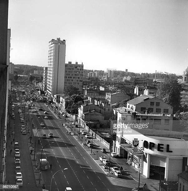 Toulouse . The district of the North bank of the Garonne in progress. May 1968.