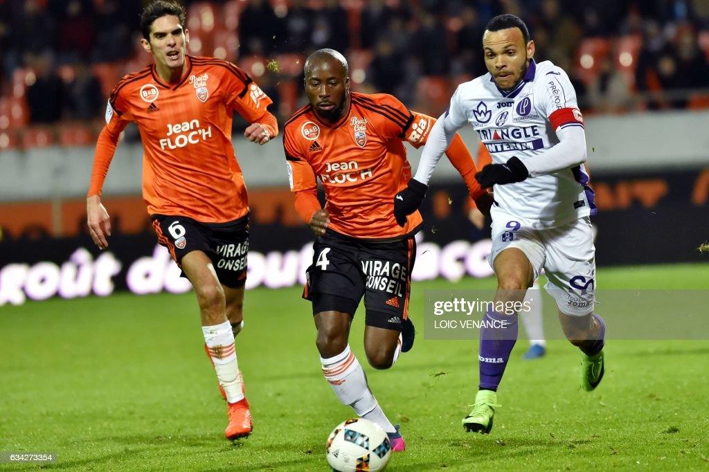 FC Lorient v Toulouse FC - Ligue 1