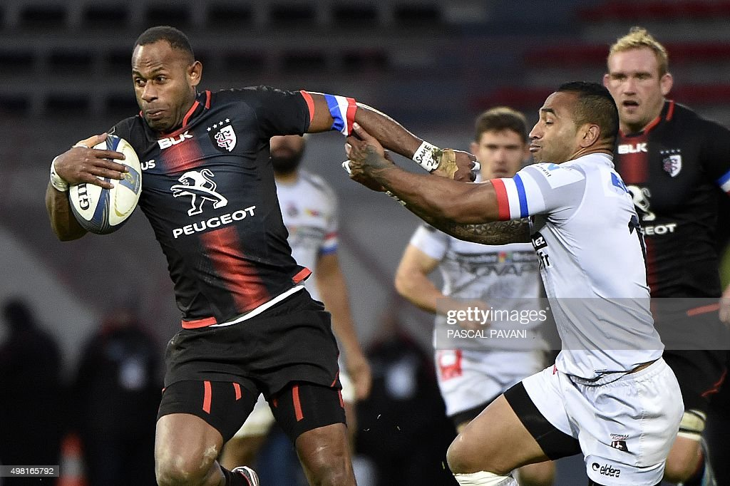 RUGBYU-EUR-CUP-TOULOUSE-OYONNAX : News Photo