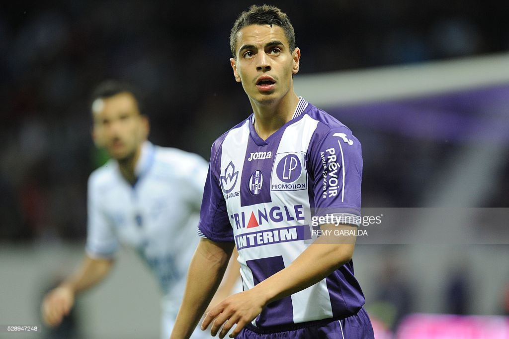 FBL-FRA-LIGUE1-TOULOUSE-TROYES : News Photo