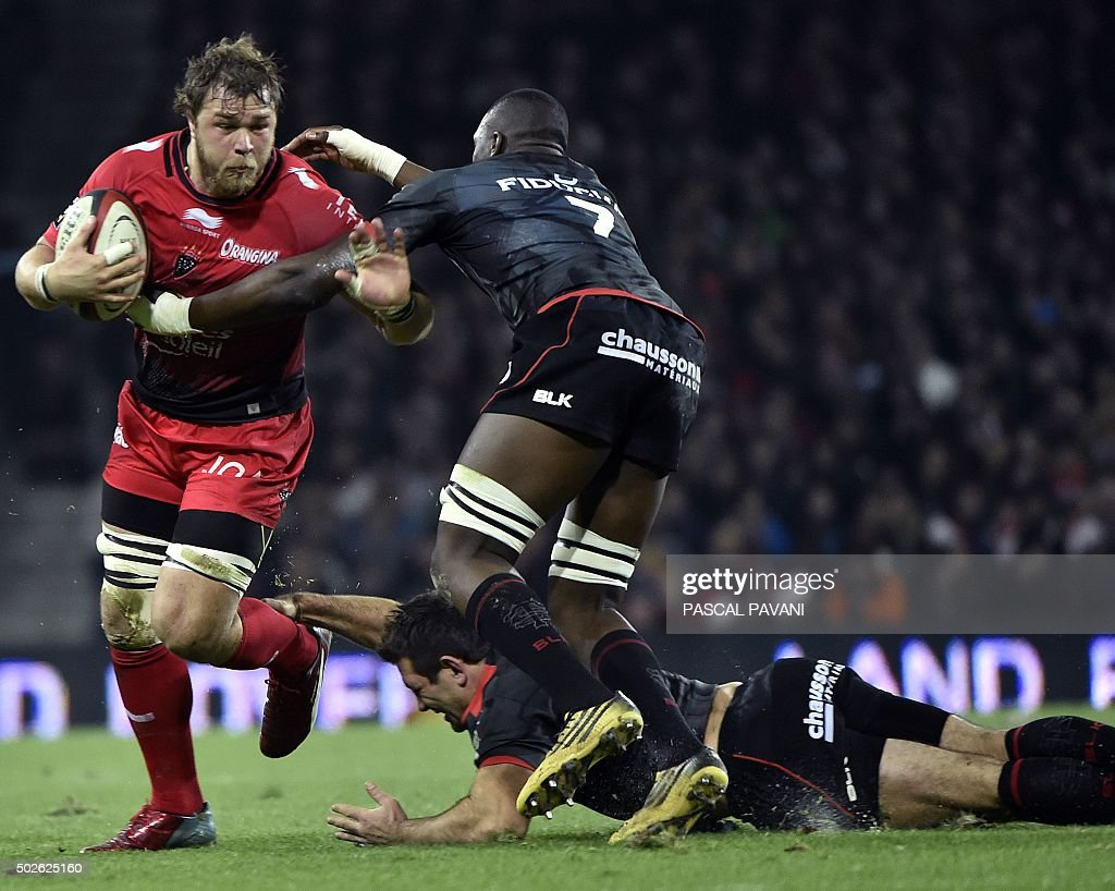 RUGBYU-FRA-TOP14-TOULOUSE-TOULON : News Photo