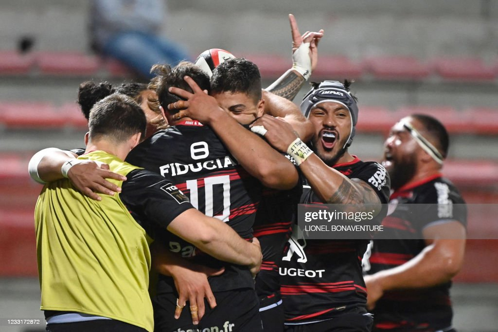 RUGBYU-FRA-TOP14-TOULOUSE-CLERMONT : News Photo