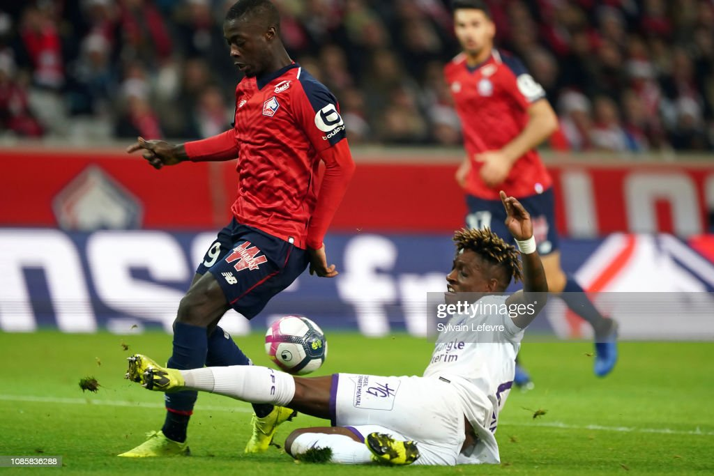 Lille OSC v Toulouse FC - Ligue 1 : News Photo