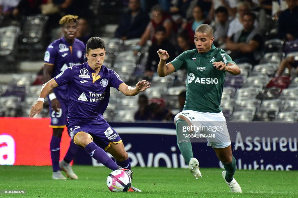 Toulouse FC v AS Saint-Etienne - Ligue 1