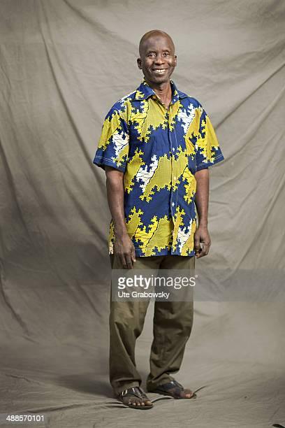 Touré Adama 57 years old from Daloa in Cote d Ivoir poses during SAFEM Salon international de l'artisanat pour la femme trade fair on December 07...