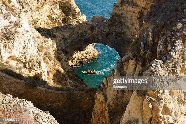 Tour de explorar Ponta da piedade no Algarve