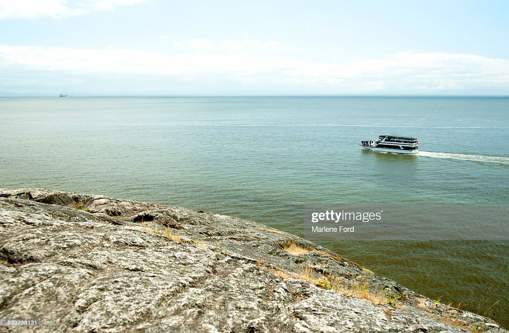 Tour boat in Vancouver : Foto stock